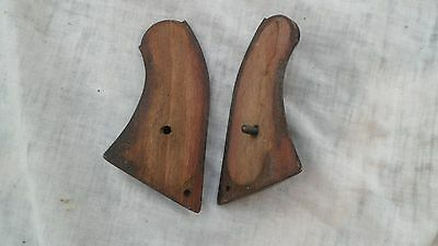 A pair of Remington Army wooden grips
