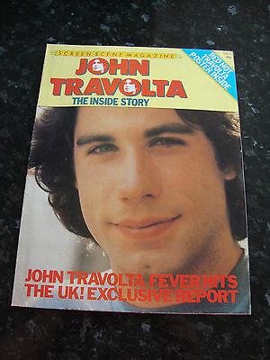 John Travolta Poster Magazine, Screen Scene Magazine No. 1
