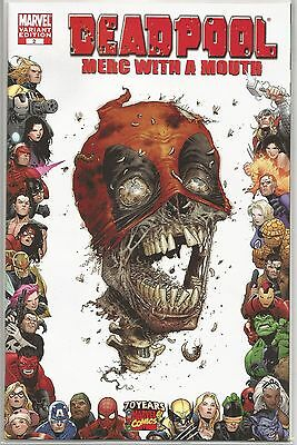 Deadpool : Merc with a Mouth #2 : Zombie Variant : October 2009