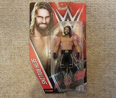 Wwe Seth Rollins Mattel Series 60 Action Figure Raw Smackdown Nxt The Shield