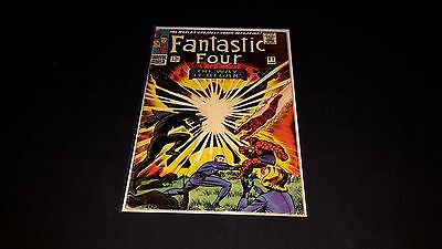 Fantastic Four #53 - Marvel Comics - August 1966 - 1st Print - 2nd Black Panther