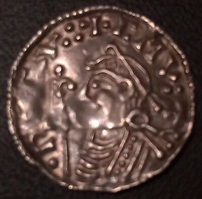 Cnut Anglo-Saxon Silver Hammered Penny 1016-1035