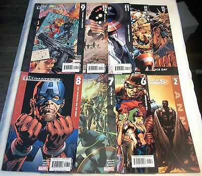 Ultimates 2 #6 7 8 9 10 11 12 13 & Ultimates 2 Annual Lot of 9  Marvel Avengers
