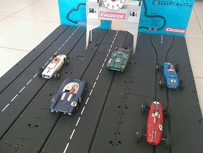 Nice Vintage Original Carrera 132 1:32 Slot Car Collection 5 Cars