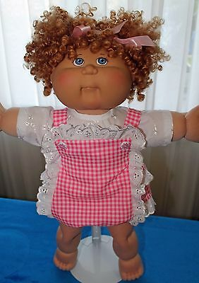 Cabbage Patch Doll Cloths- Girls Pink romper - Blouse - fits 16""
