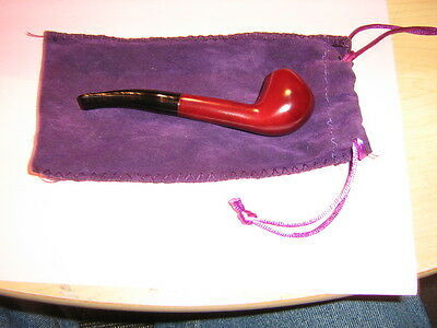 Nice New Mini Redwood Tobacco Cigarette Pipe With Pouch