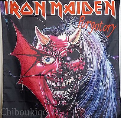 IRON MAIDEN Purgatory HUGE 4X4 BANNER poster tapestry cd album cover heavy metal