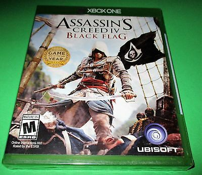 Assassin's Creed IV - Black Flag - Xbox One *Factory Sealed! *Free Shipping!