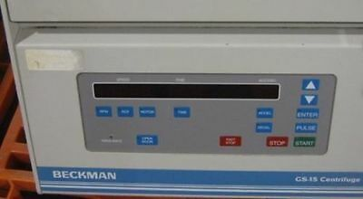Beckman Coulter GS-15 Benchtop Centrifuge
