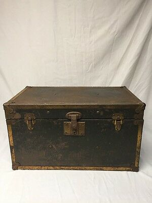 "VINTAGE TRUNK CHEST GREAT LOOK  18""x10""x10"" SMALL"