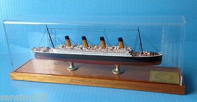 OLYMPIC ocean liner MODEL cruise ship WHITE STAR LINE, scale 1:900, by Scherbak