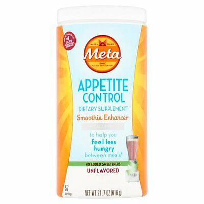 Meta Appetite Control Dietary Supplement Smoothy Enhancer Unflavored-SALE WEEK