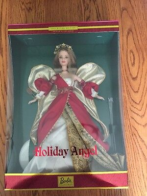 2000 Holiday Angel Barbie Doll Collector Edition 2nd In Series 29769