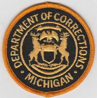 vintage Michigan Department of Corrections patch  MI  DOC