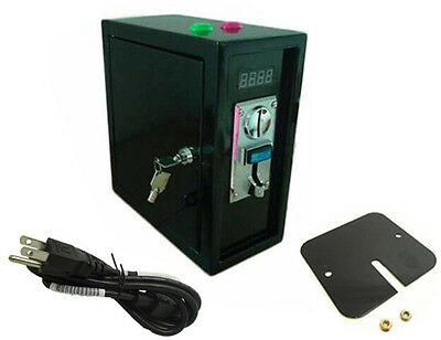 220V with push button coin operated Time Control box Power Supply