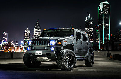 2005 Hummer H2  2005 H2 Hummer SUT, Fully Kevlar'd, 38s, Clean Car Fax, FREE SHIPPING!!!