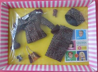 Vintage Mint NRFB Mattel Barbie & Midge Fashion #1615 Saturday Matinee