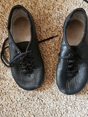 tap Jazz shoes Black with Laces