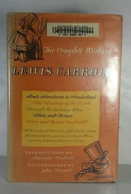 The Complete Works of Lewis Carroll (Alice in Wonderland) - Modern L E Ex LIB
