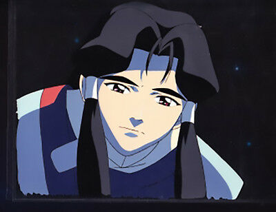 Original Anime Production Cel Tenchi's Grandfather from Tenchi Forever Movie