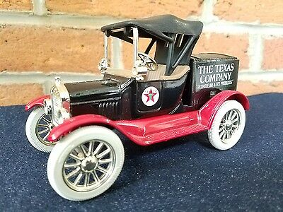 Ertl Texaco 1918 Ford Runabout Collector Bank #5 Petroliana Gas Oil