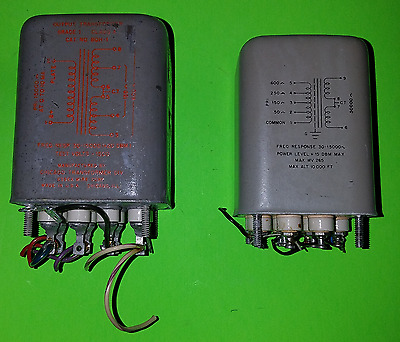 Chicago Audio Input Transformer and Audio Output Transformer (Matched Pair)