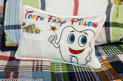 Tooth Fairy Pillow Mr. Tooth