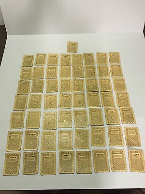 Vintage 1863 Authors Antique Playing Cards Game Sage Sons & Co Buffalo New York