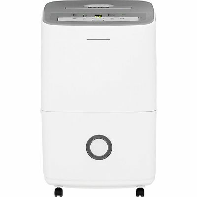 30Pint Dehumidifier with Effortless Humidity Control 24-hour on/off control lock