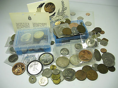 Huge Giant US & World Coin Lot, My Collection! Silver Assortment Large Worldwide