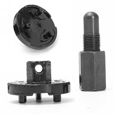 14mm Universal Piston Stop Chainsaw Clutch Flywheel Removal Tool Black New