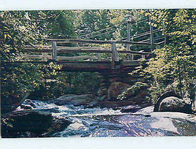 Pre-1980 BRIDGE AT THE OLD MILL RESTAURANT Westminster Massachusetts MA hs4294