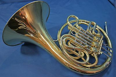 Vintage Olds (Conn 6D Clone) Made in USA Double French Horn w/ Case, Mouthpiece