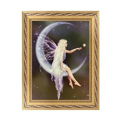 DIY 5D Diamond Embroidery Butterfly Fairy Painting Cross Stitch Home Wall Decor