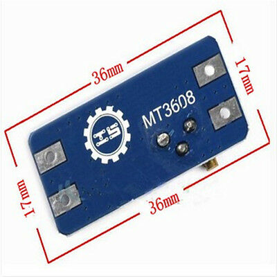 MT3608 MICRO USB DC-DC Voltage Step Up Adjustable Boost Converter Module 2A