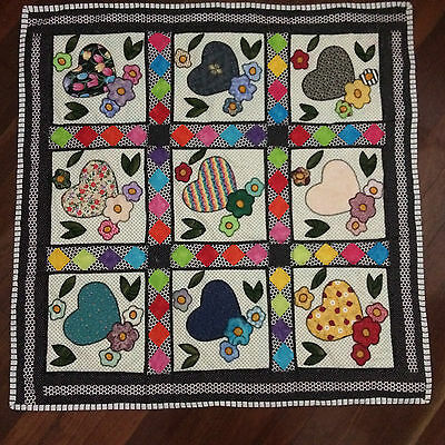 NEW Handmade Baby Blanket/Quilt for Floor Play, Kick mat  tummy time Girl
