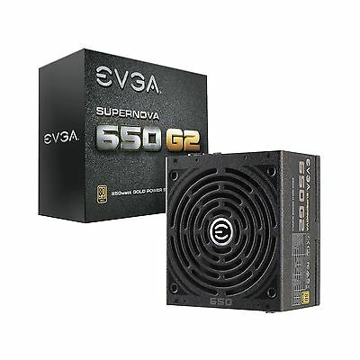 EVGA SuperNOVA 650 G2 80+ GOLD 650W Fully Modular EVGA ECO Mode 7 Year Warran...