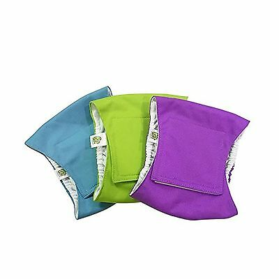 Pet Magasin Washable Belly-Wrap Diapers for Male Dogs (3-Pack Medium)