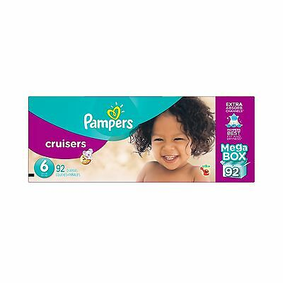 Pampers Cruisers Diapers Size 6 92 Count