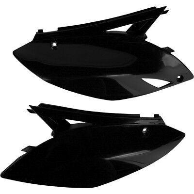 UFO NEW Mx Kawasaki KX450F 2009-2011 Black Motocross Side Panels Plastics