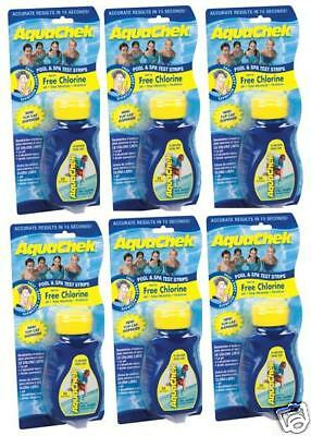 Aquachek Yellow Pool 50pk Spa Test Strips **20 bottles**