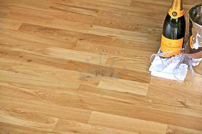 Trade Choice Click Loc Engineered Oak 200mm x 13/3.2mm Lacquered Wood Flooring