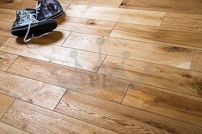 Trade Choice Rustic Oak 125mm x 14/3mm Brushed and Oiled Wood Flooring
