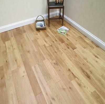 Trade Choice Solid Fingerjoint Oak 18mm x 125mm Brushed and Oiled Wood Flooring