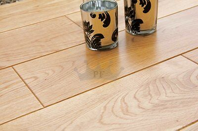 Kingsford Solid Natural Oak 125mm x 18mm Lacquered Wood Flooring