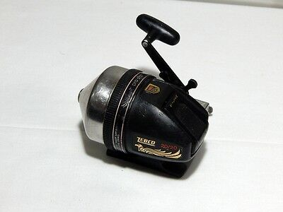Vintage ZEBCO  PRO-STAFF 20/20 FISHING REEL Made in USA spinning spincasting