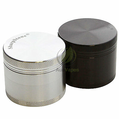 Sharpstone 56mm 4pc Solid Top Grinder - Authentic Herb Muller Crusher