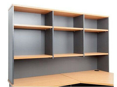 Rapid Worker Overhead Hutch CH12 - Adjustable Shelves