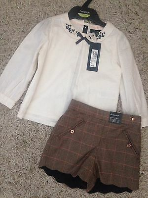 Baby Girls M&S Autograph Outfit 12-18 Months BNWT New With Tags
