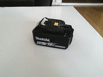 Makita 18V Lithium Ion Battery 5.0Ah Bl1850B Fully Working Good Condition
